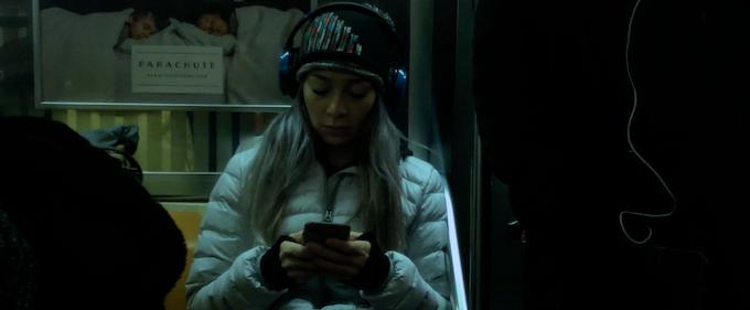 Juliet on the subway,