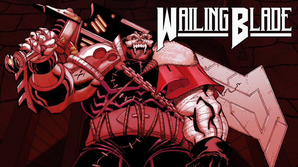 Wailing Blade #1: Bloody, Brutal Dark Fantasy Sci-Fi Comic project video thumbnail