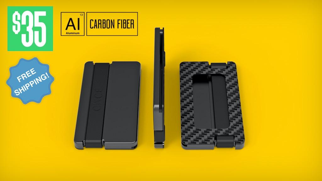 BOMO - Super Compact Minimalist Wallet project video thumbnail