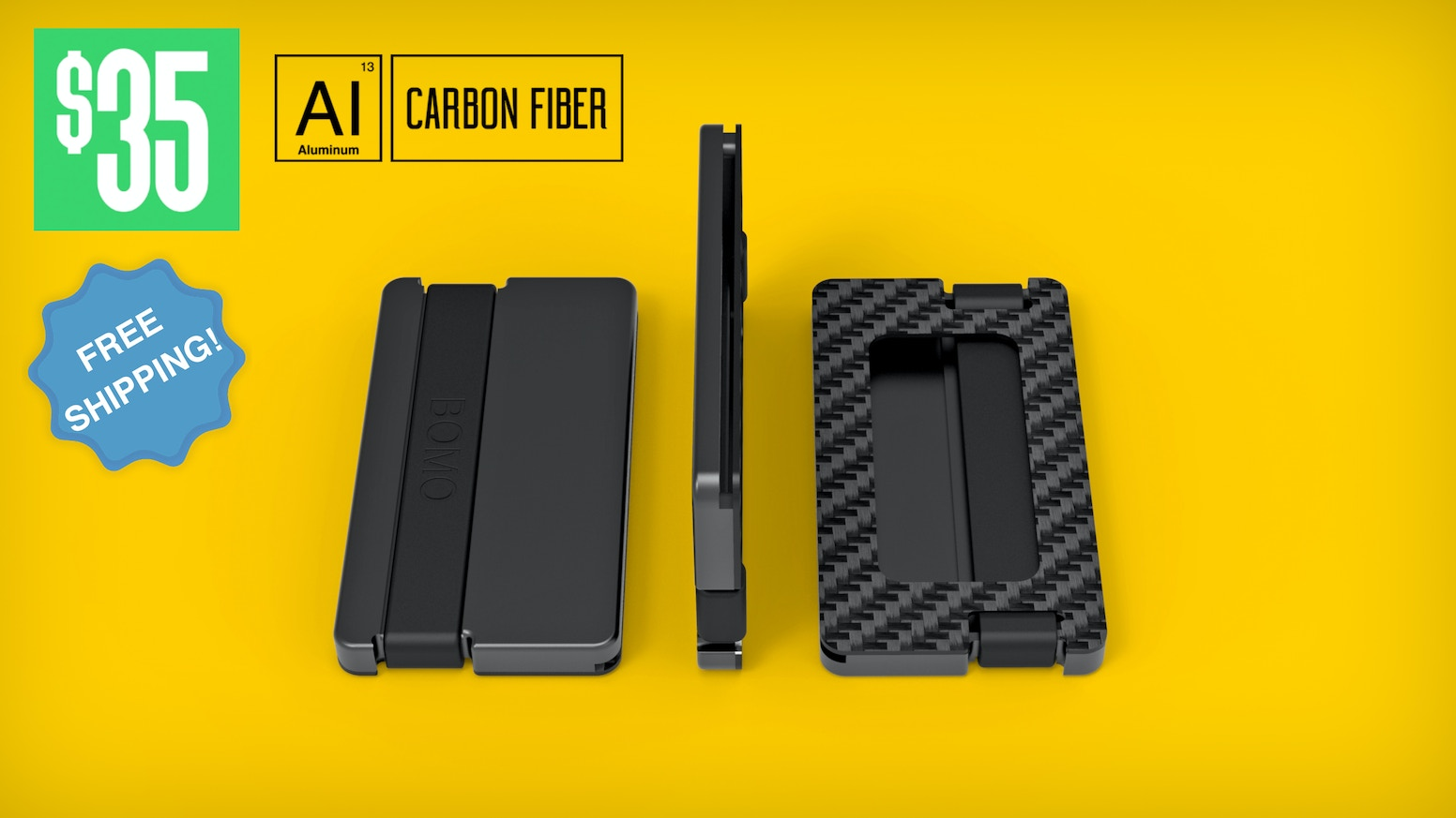 Super Slim RFID protected wallet that is made from premium materials! Both Functional and versatile!
