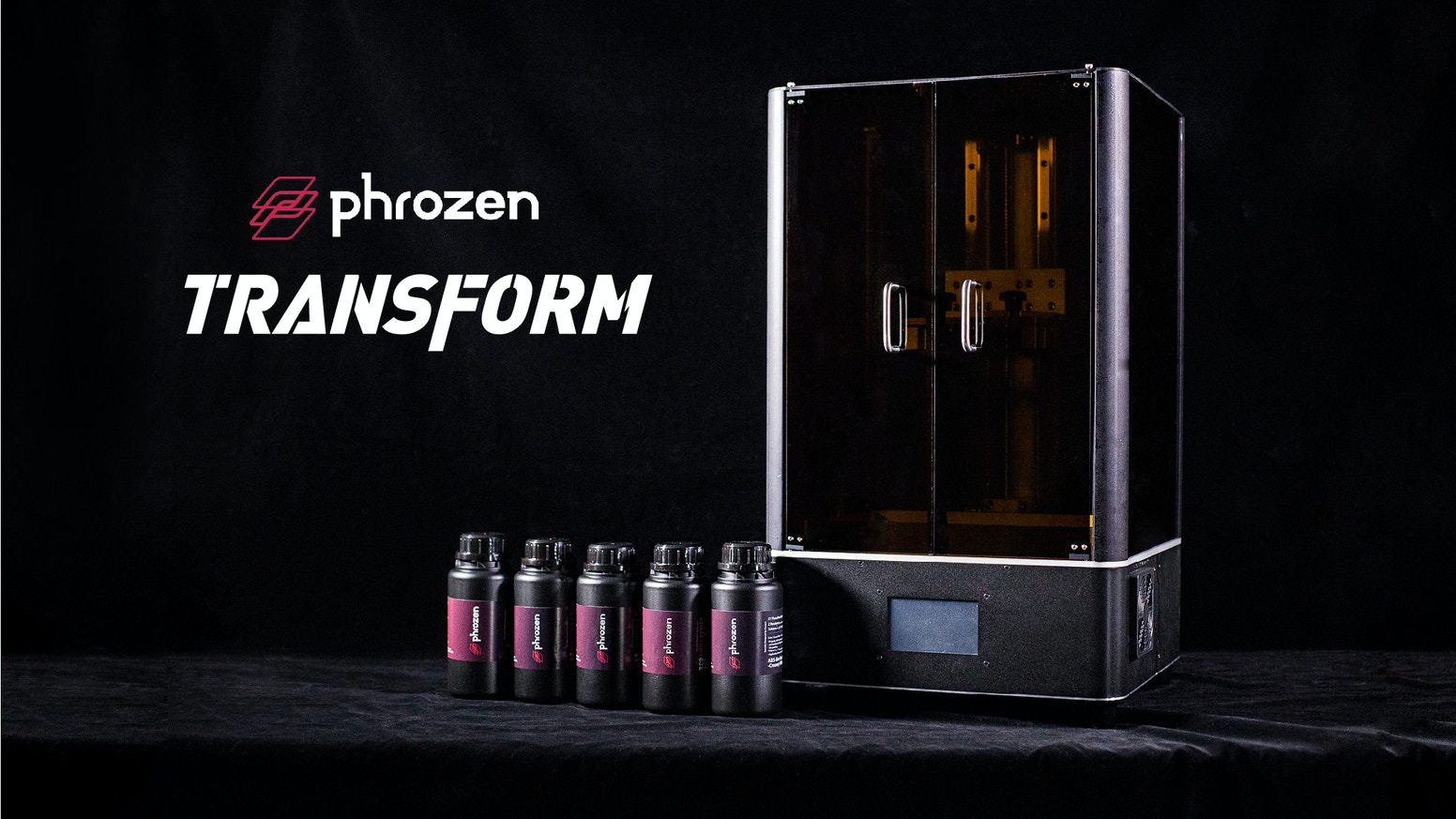 "Versatile and precise, Phrozen Transform's changeable 13.3"" & dual 5.5"" panels and ultra-stable 40 cm Z-axis will let you PRINT BIG."