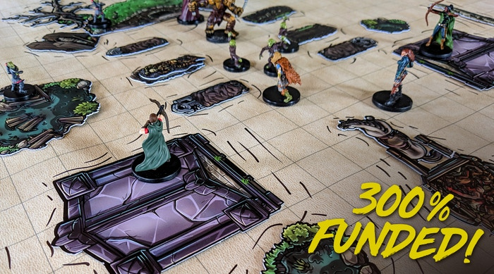 Beautifully hand-drawn, plastic tokens to creatively add depth and immersion to any RPG battlemap.