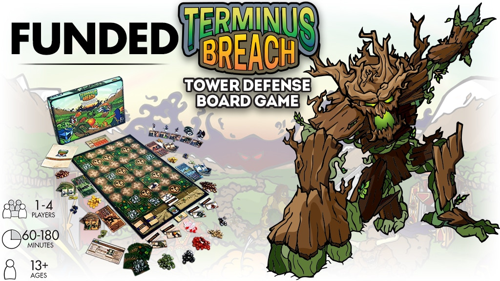 Terminus Breach: Tower Defense Board Game project video thumbnail