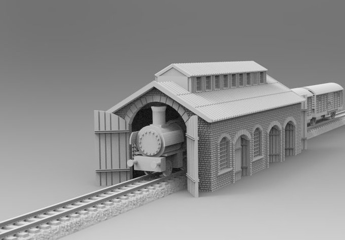 Train hall