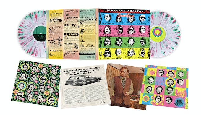 Some Guys Vinyl Package Designed by Ed Sherman and Gail Marowitz