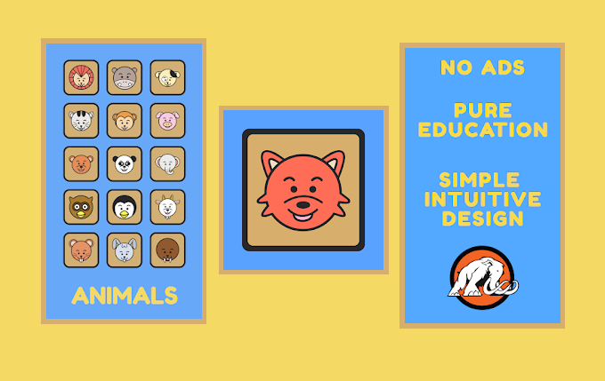 An app for your growing toddler. Simple Animals Sounds is the perfect app to teach your kids basic animal names.