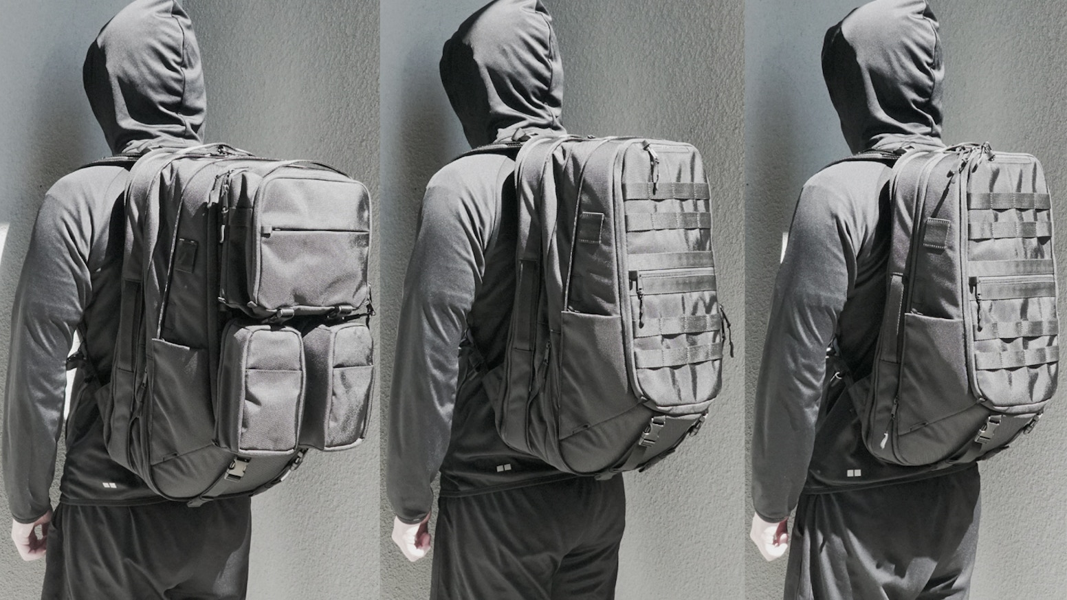 The First Magnetic Molle Travel & Daily Backpack, which adjusts depending on your activity or occasion.