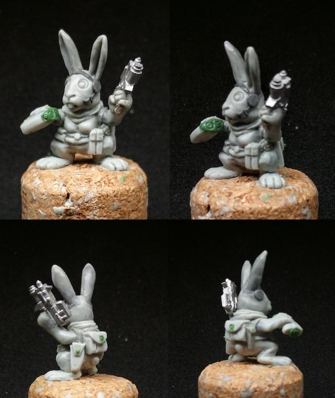 The rubbit WIP