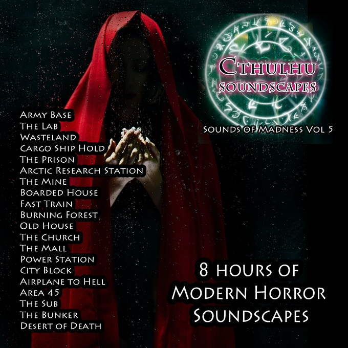 Cthulhu: Sounds of Madness Vol 4 & 5! 1920's & Modern by