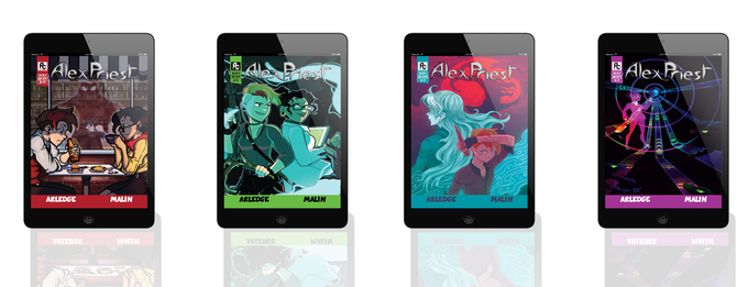 Or you can collect the entire series thus far in digital or print formats!