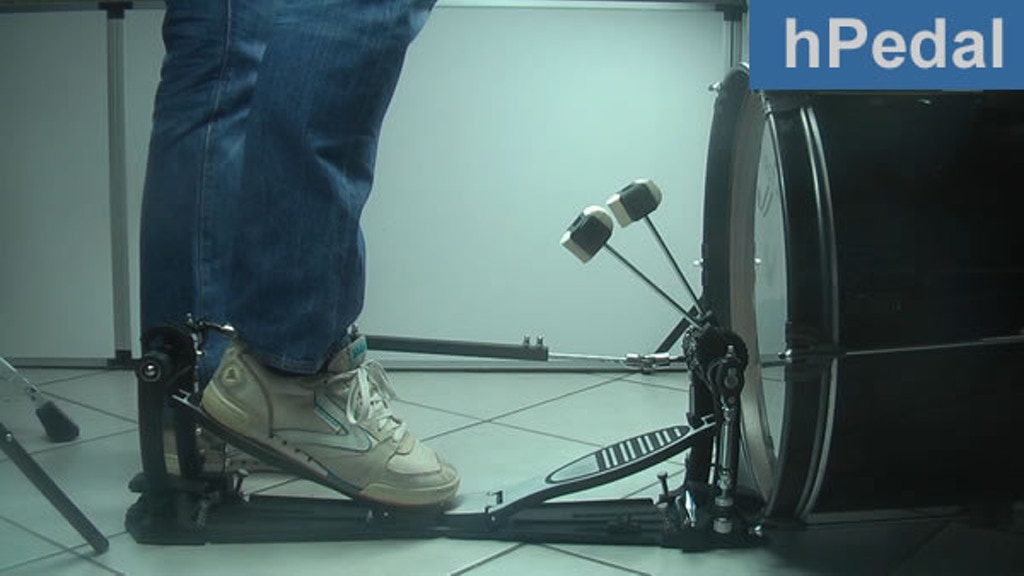 Project image for hPedal - play your bass drum while sitting or standing