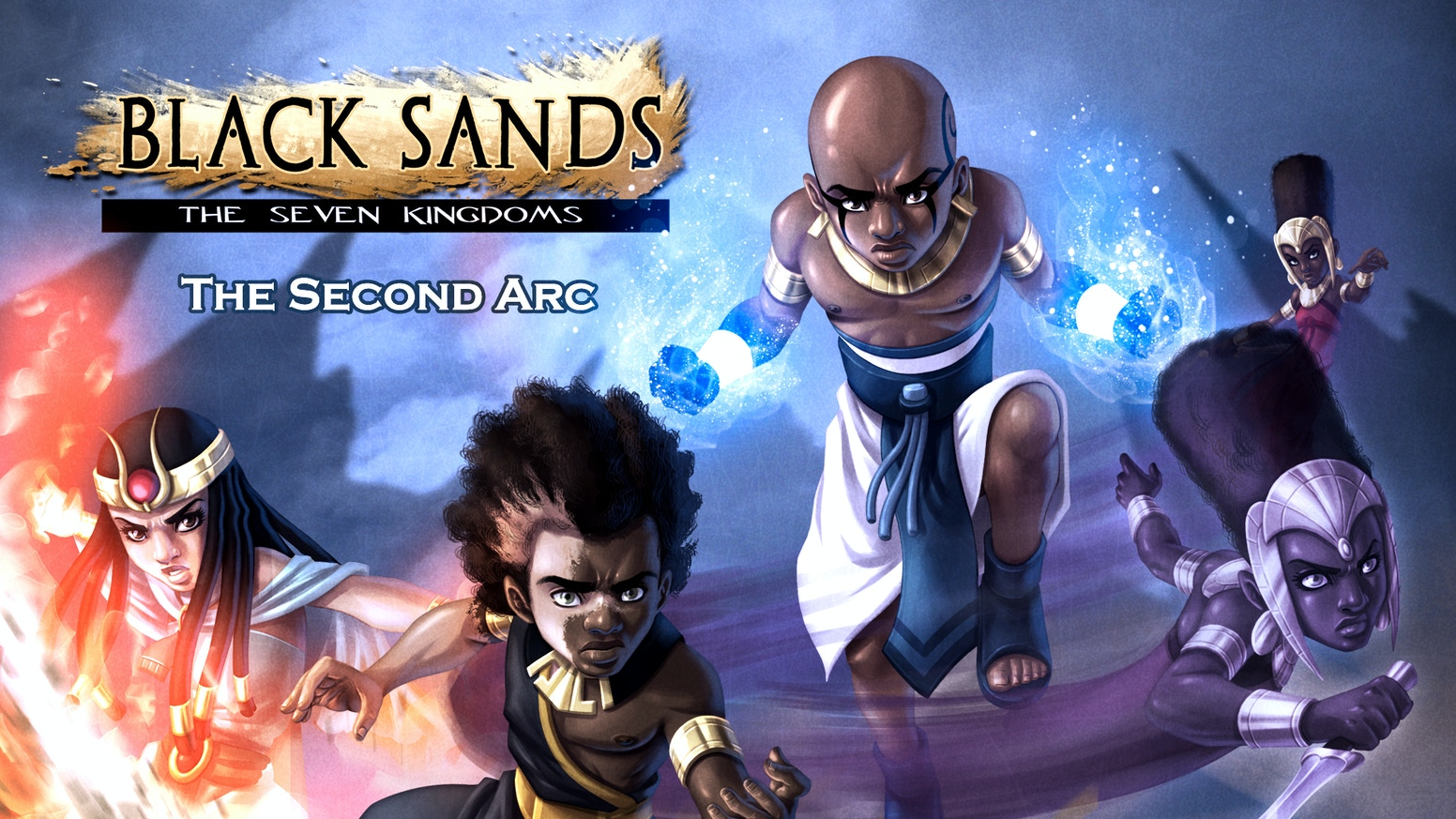The second arc of the Black Sands saga, an award-winning series endorsed by Michelle Obama, Publisher's Weekly, and Bleeding Cool