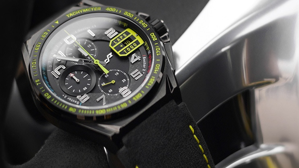 Racing-inspired watch with Carbon Fiber and Alcantara project video thumbnail