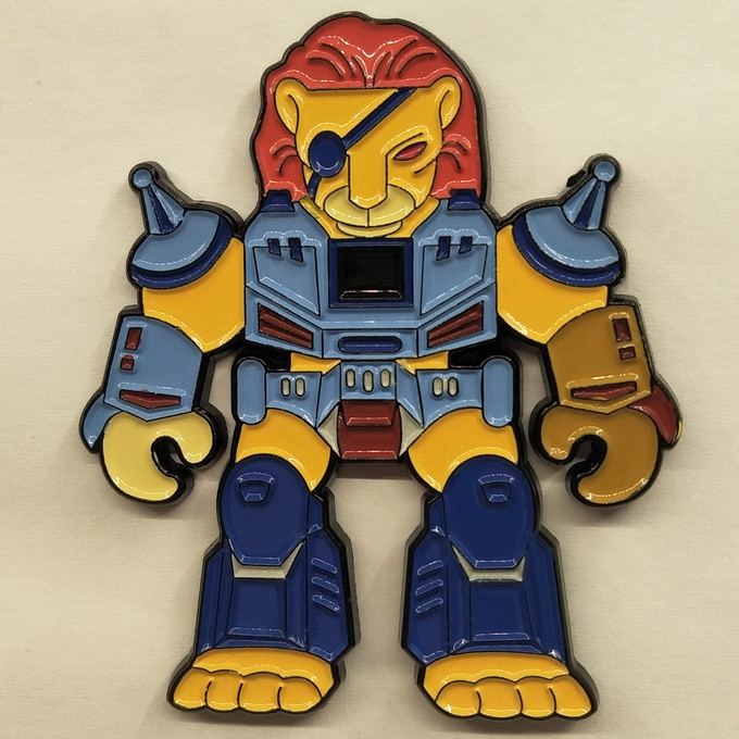 While many Beasts are still in just design form, this is the ACTUAL Lion Variant pin!