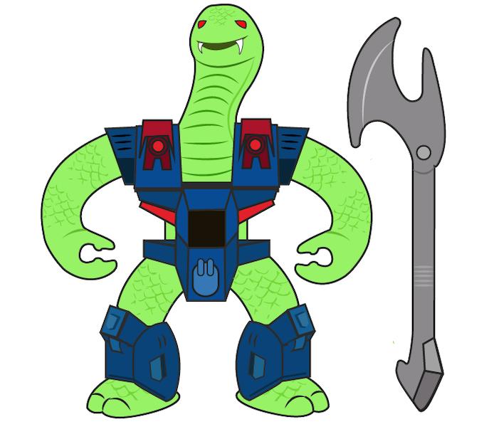 Snake Beast design