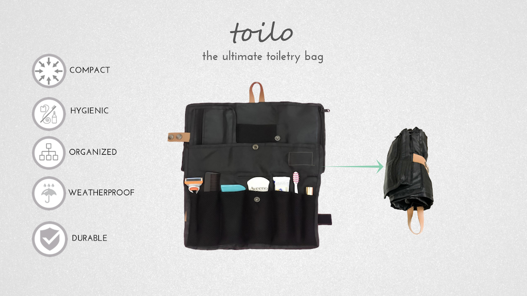 Toilo: No Space Wasted, More Toiletries, No Leakage