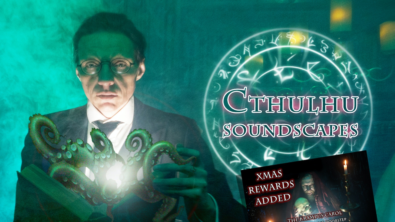 OVER 16 HOURS of 40 Brand New Cthulhu inspired & horror, soundscapes to immerse yourselves in during roleplaying, boardgames and LARP.