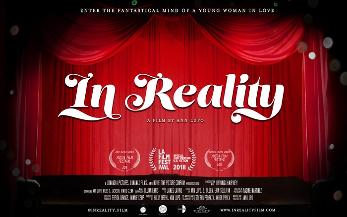 IN REALITY is an autobiographical rollercoaster ride through the fantastical mind of a young woman falling in and out of love. Available now to rent/buy: https://www.inrealityfilm.com/#watch