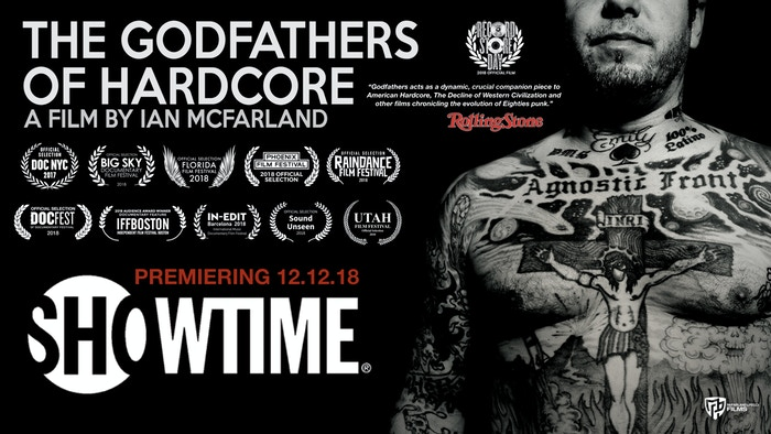 This film is about the two of the most respected men in underground music, Roger Miret & Vinnie Stigma of the band Agnostic Front.