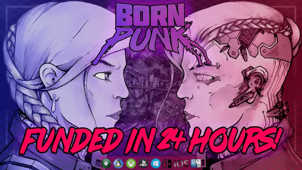 Born Punk - A Cyberpunky Classic Point & Click Adventure