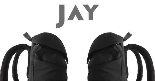 JAY - A Daypack That Gives Your Body A Break