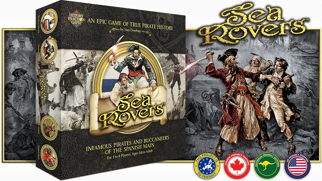 Project image for SeaRovers - An Epic Game of True Pirate History (Canceled)