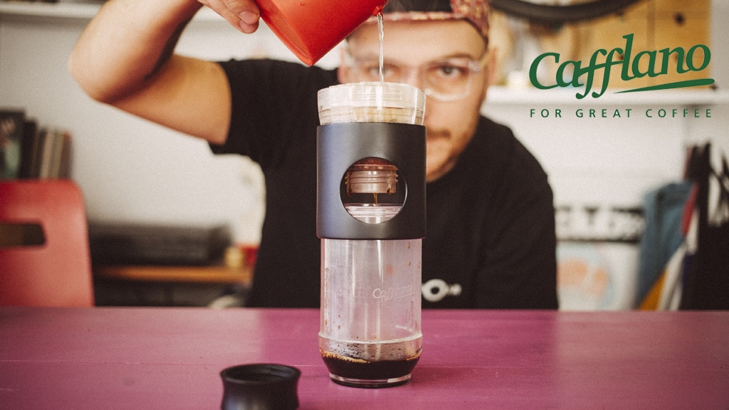 Cafflano® Go-Brew, a Portable Brewing Bottle project video thumbnail