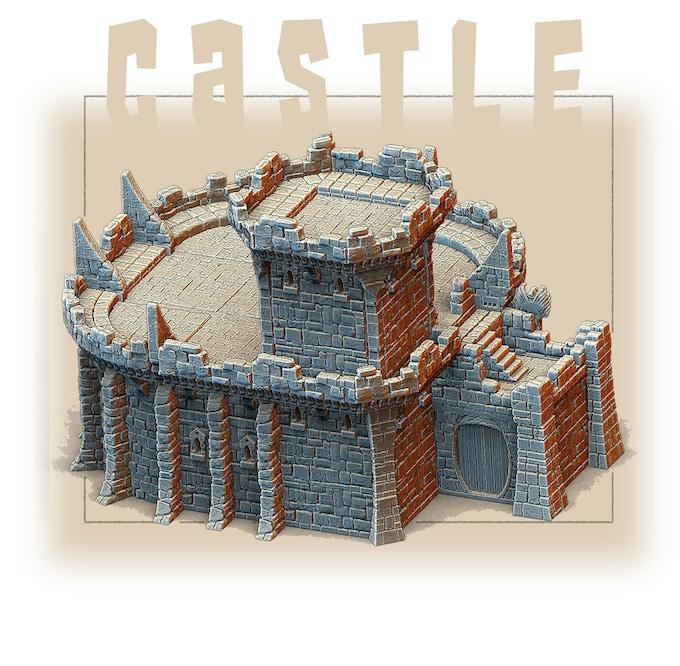 Infinite Castle Design