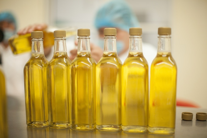 100% organic sesame oil produced in small batches