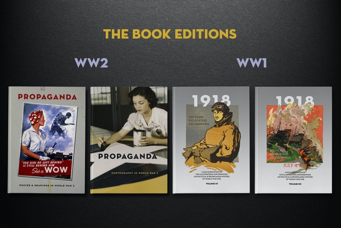 PROPAGANDA - Posters, Drawings & Photography in WW2 by Tim