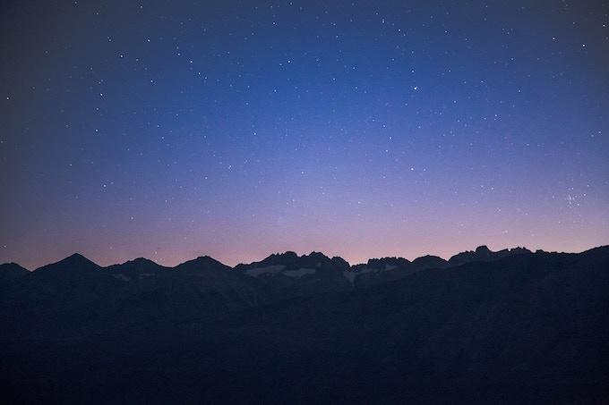 Palisades twilight
