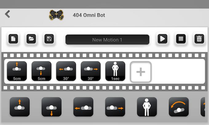 Motion maker easy mode - depends on robot model