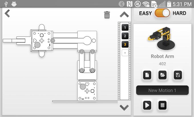 Motion maker hard mode - depends on robot model