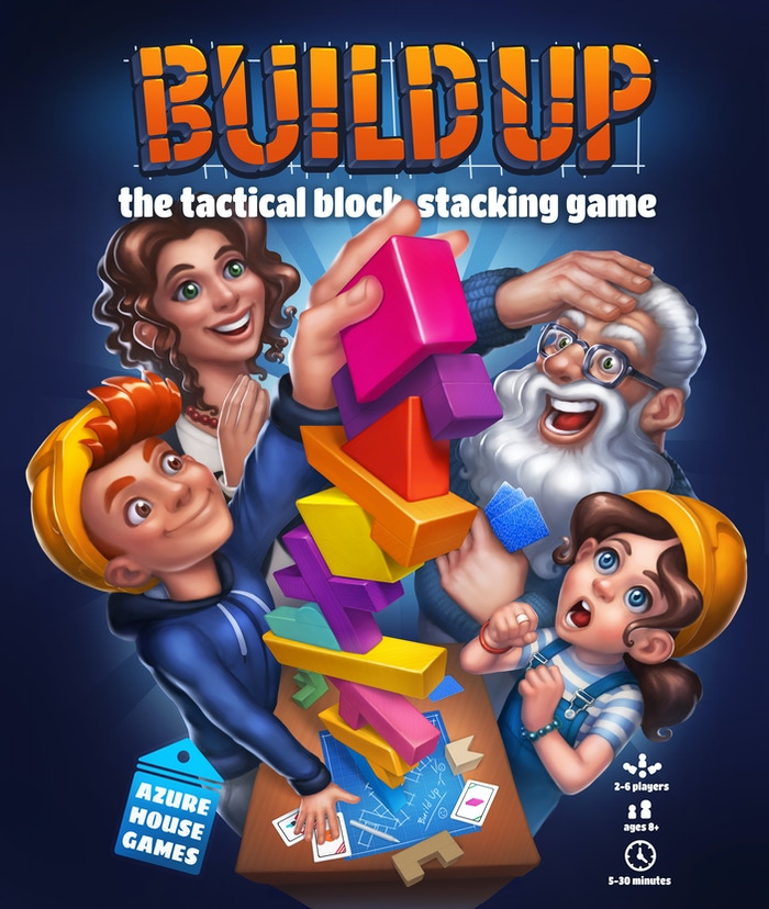 The perfect blend of a family and strategy game. Play your cards right so the next player topples the tower. Great fun for everyone!