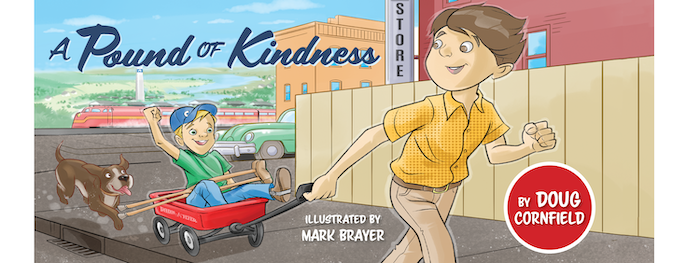 A true story children's book of unforgettable kindness for all ages. The main character is a child with a severe physical disability.