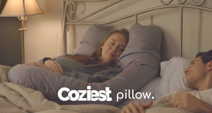 Let the Coziest Pillow cuddle your entire body with a premium sateen embrace and align your body optimally for comfort and health.