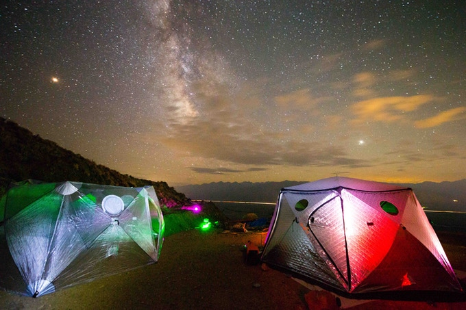 Dark skies... huge Meade telescope... SHIFTPODs... astrophotography... hot tub... come visit!