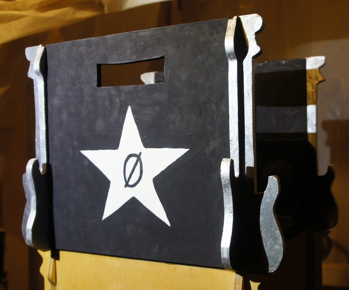 Matt Kräck RokCrate Artist Edition 'Zerostar' inspired by The Smashing Pumpkins