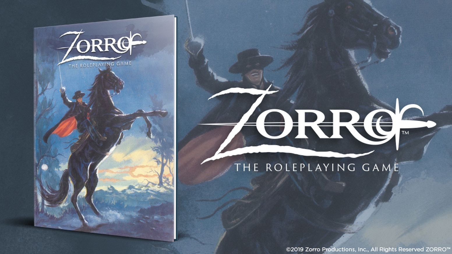 Zorro: The Roleplaying Game Kickstarter