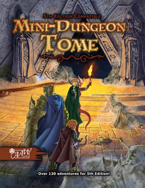 Purchase the 5E Mini-Dungeon Tome for Fantasy Grounds!