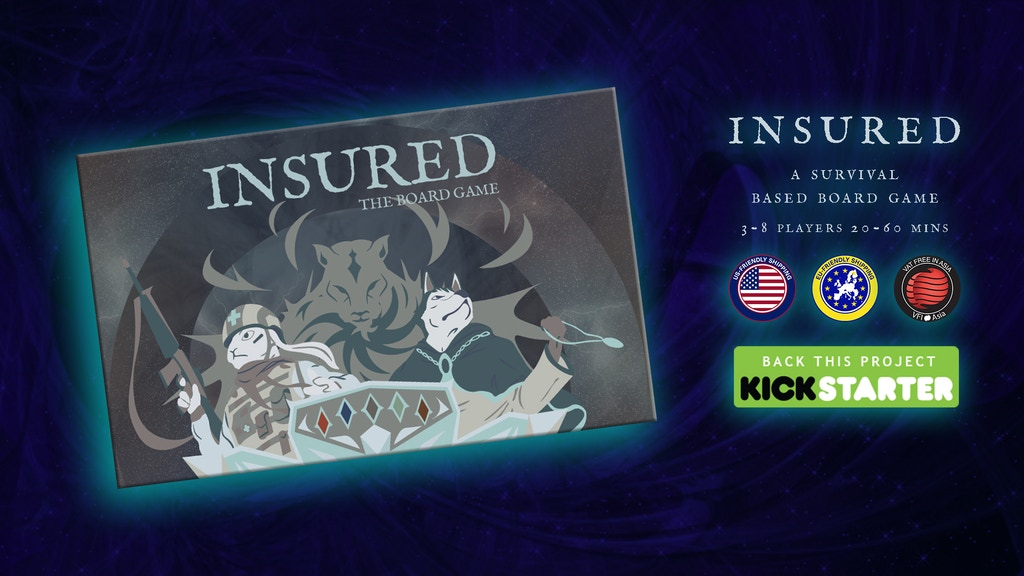 INSURED: The Survival Based Board Game project video thumbnail