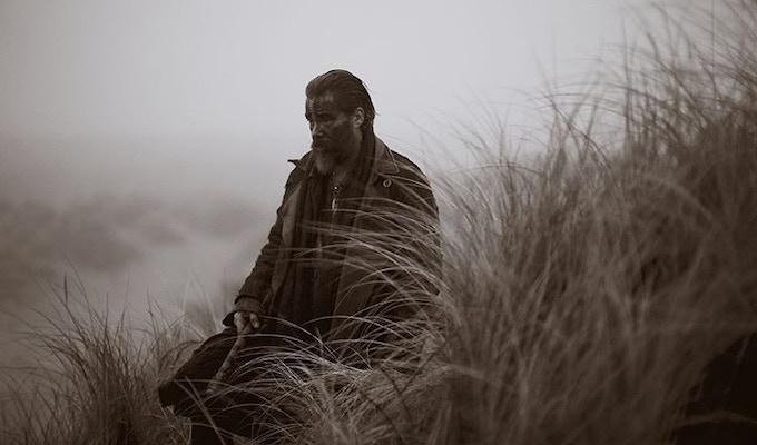 Actor Michael Raymond-James is Fortunato in Frontier on Netflix