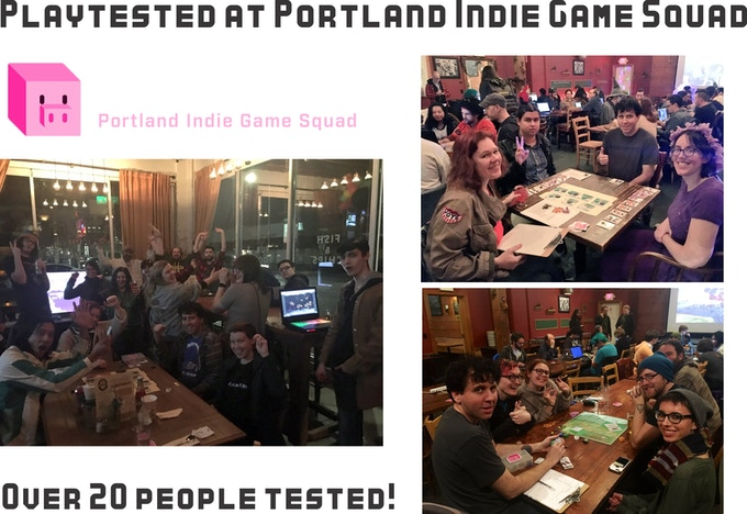 Portland Indie Gaming Squad Tested