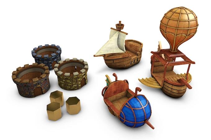 3D rendered models