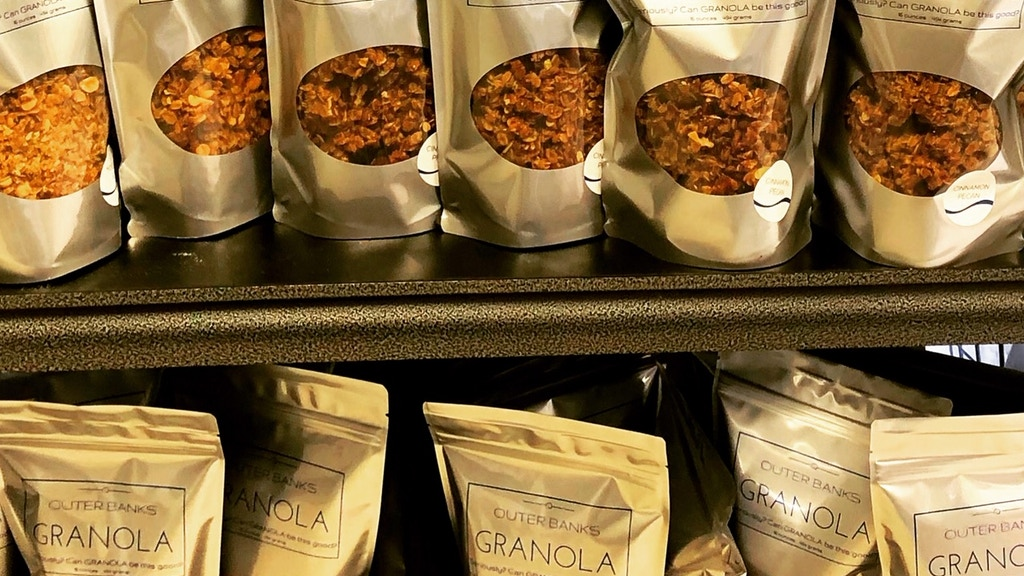 Outer Banks Granola - too addictive not to share!