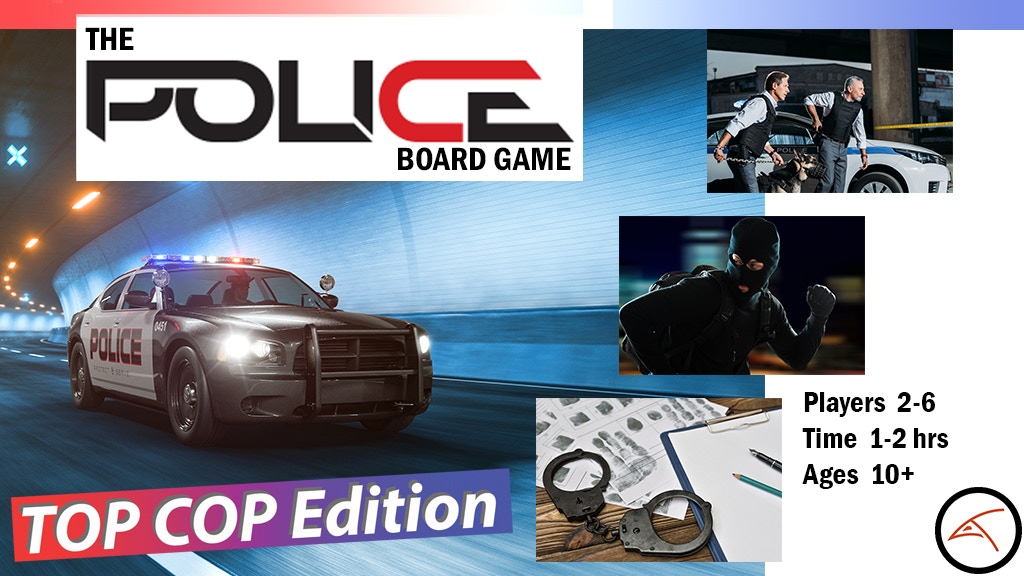 Project image for The Police Board Game - TOP COP (Canceled)