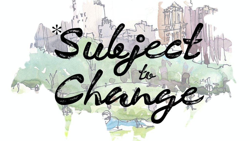 Subject to Change: A Scripted Musical TV Show project video thumbnail