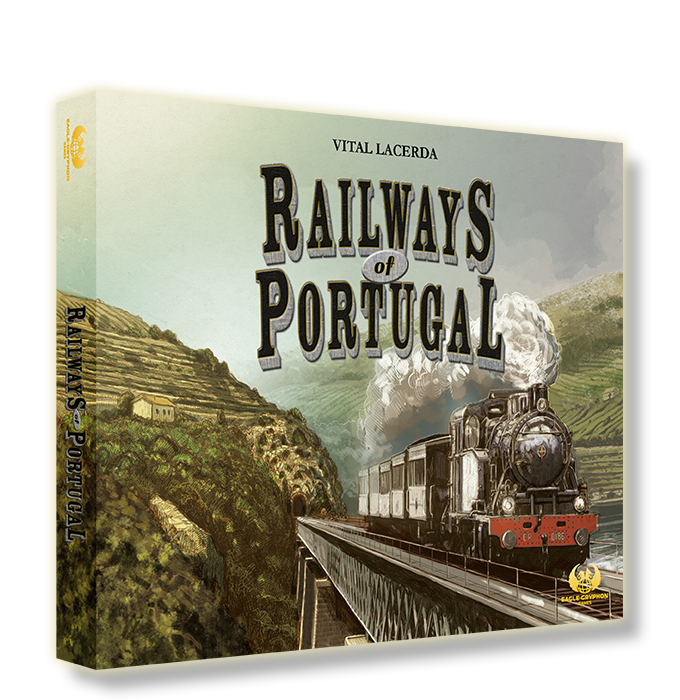 The box cover of Railways of Portugal