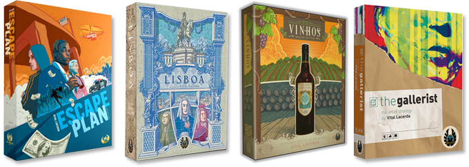 Escape Plan, Lisboa, Vinhos Deluxe, and The Gallerist