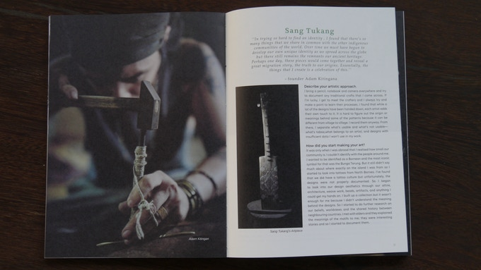 Borneo Art Collective Book Features the Practising Artist and Craftsmen of the region
